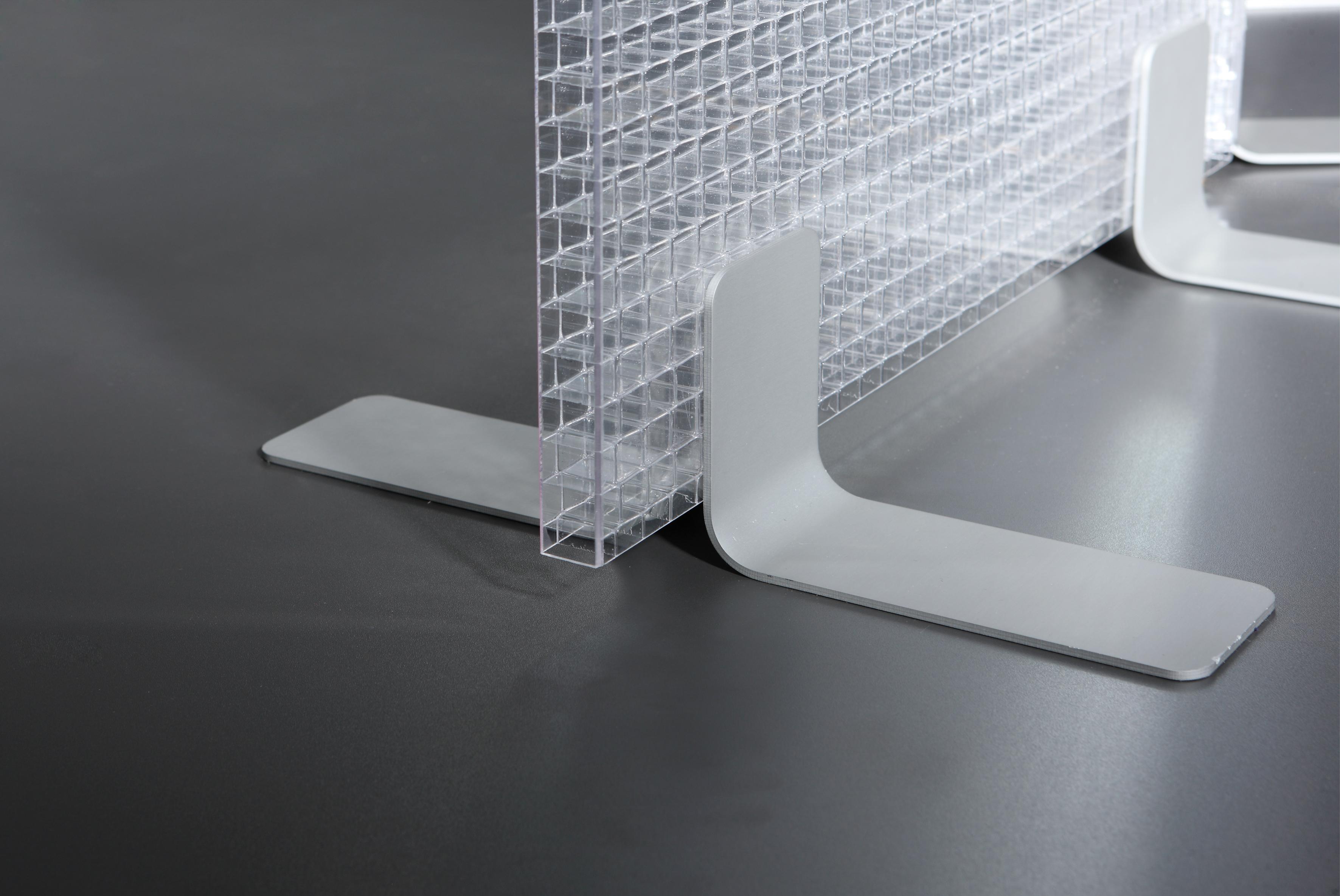 Transparente raumteiler akustikkunst - Trennwand bauen ohne boden beschadigen ...