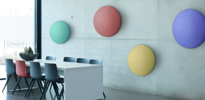 akustikkunst raumakustik wandabsorber raumteiler deckensegel. Black Bedroom Furniture Sets. Home Design Ideas